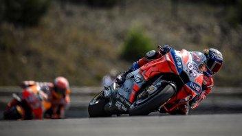 MotoGP: WUP: la Ducati detta legge: 1° Dovizioso, 2° Lorenzo