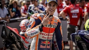 MotoGP: Marquez: Dovizioso è pericoloso, ma occhio a Lorenzo e Rossi