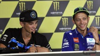 """MotoGP: Rossi: """"questa volta Luca è messo meglio di me"""""""
