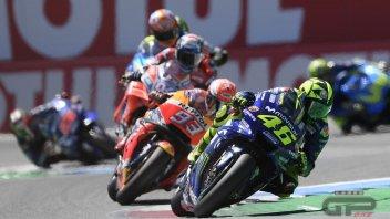 MotoGP: I primi 100 GP: solo Rossi meglio di Marquez