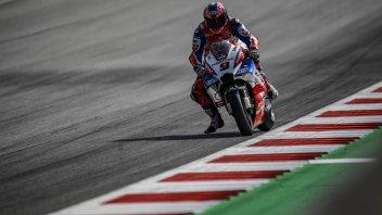 MotoGP: Petrucci: i miei 10 Kg in più si fanno sentire