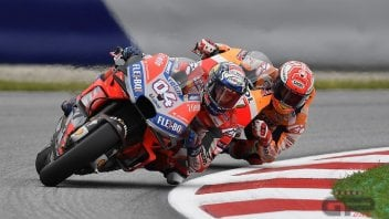 "MotoGP: Dovizioso: ""Marquez a perfectionist? He's a shark"""