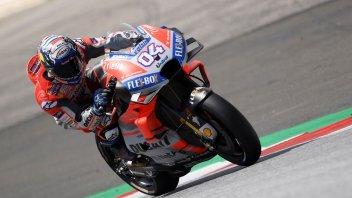 MotoGP: Dovizioso piega Marquez nel warmup, 3° Lorenzo