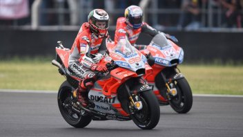 MotoGP: Lorenzo & Dovi, red fury on the treacherous Silverstone track