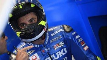 """MotoGP: Iannone: """"L'asfalto non drena, la pista sembra un lago"""""""
