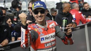 """MotoGP: Lorenzo: """"stavo andando contro il muro a più di 300 Km/h"""""""