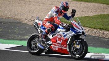MotoGP: FP3: il freddo di Silverstone gela tutti ma non Petrucci