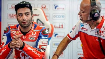 """MotoGP: Petrucci: """"Sunday there is a risk of not racing"""""""