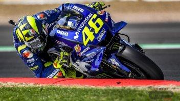 """MotoGP: Rossi: """"Il segreto per andare forte sulle buche è fregarsene"""""""