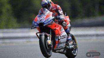 MotoGP: Dovizioso: io e Lorenzo abbiamo messo in crisi Marquez