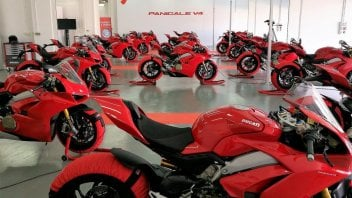 News Prodotto: Ducati: non bastano Panigale e SS, vendite in calo nel 2018