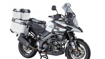 News Prodotto: Suzuki V-Strom 1000: in promozione con il tris di valigie