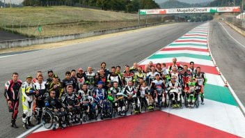 News: Il Mugello ospita i piloti disabili per la Handy Race