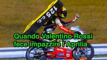 News: Pernat, quando Rossi fece impazzire l'Aprilia