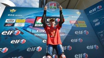 News: ELF CIV: Kevin Zannoni campione italiano Moto3