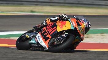 Moto2: Binder impeccabile ad Aragon, 2° Bagnaia