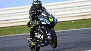Moto3: FP3: su pista umida Bulega svetta a Misano