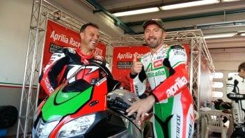 MotoGP: Capirossi and Biaggi together on the track at Mugello