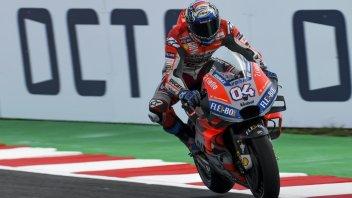 MotoGP: FP1: Dovizioso subito in testa, 15° Rossi
