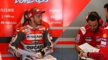 "MotoGP: Dovizioso: ""The Ducati like the Ferrari? Too hard to compare"""