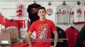 MotoGP: Una curva ad Aragon per Marc Marquez: il suo invito ai tifosi