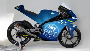 MotoGP: Misano: il team Sky con una livrea speciale per salvare il mare