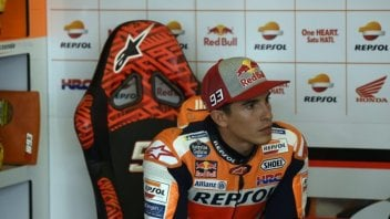 "MotoGP: Usain Márquez: ""I did a lap with a pebble in my eye"""