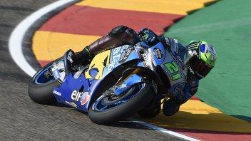 """MotoGP: Morbidelli: """"Ho voluto troppo e ho sbagliato"""""""