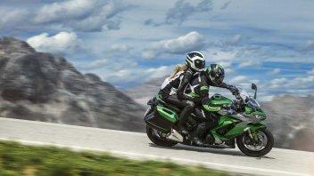 News Prodotto: Kawasaki Z1000SX: la promozione con in omaggio il kit Tourer