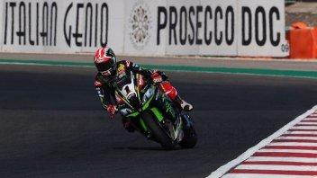 SBK: FP1: A Portimao Rea e la Kawasaki sono imprendibili