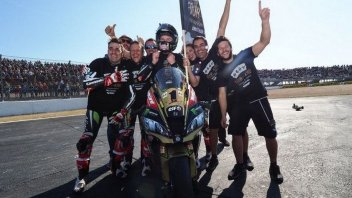SBK: Rea cleans up in Superbike with four of a kind