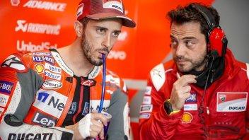 """MotoGP: Dovizioso: """"Più veloce, ma non abbastanza per il podio"""""""