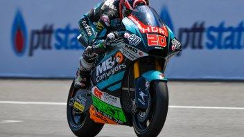 Moto2: FP3: Quartararo svetta, 3° Pasini