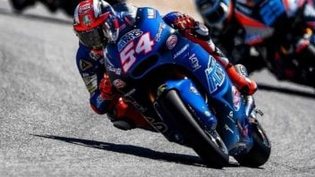 Moto2: FP1: Pasini piega Oliveira, 3° Bagnaia