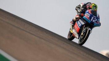 Moto3: FP1: solo Kornfeil fa meglio di Bezzecchi a Buriram
