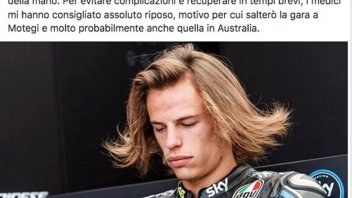 Moto3: Incidente in casa per Bulega: salta il GP di Motegi