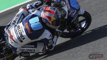 Moto3: FP1: Martin davanti a tutti, Bezzecchi cade due volte ed è 9°