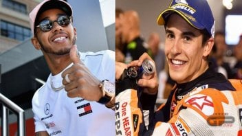 MotoGP: Hamilton and Marquez, united by destiny