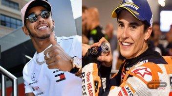 MotoGP: Hamilton e Marquez, fratelli in un insolito destino