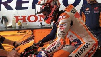 MotoGP: Marc Marquez rende omaggio a Mick Doohan