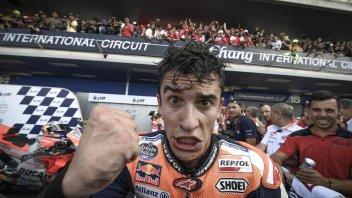 MotoGP: Marquez batte Dovizioso... e anche Hamilton in tv