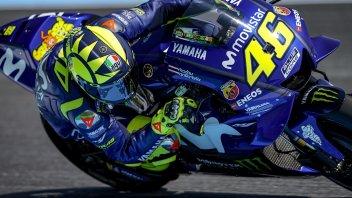 MotoGP: Rossi mai così giù per i bookmaker: 20 a 1 per una sua vittoria