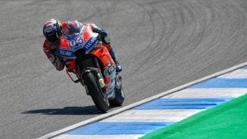 MotoGP: Ducati Red and Black: Dovi on top, Lorenzo at the medical centre
