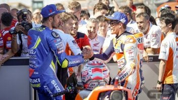 """MotoGP: Iannone: """"la mia follia: vorrei dividere il box con Marquez"""""""