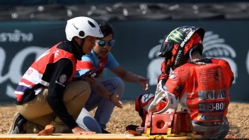 """MotoGP: Lorenzo: """"A relief to know it wasn't my fault"""""""