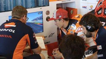 "MotoGP: Marquez: ""La caduta di Lorenzo? molto strana"""