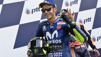 """MotoGP: Rossi: """"Siamo rinati? Solo merito della pista"""""""