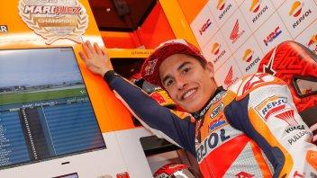 MotoGP: Marquez: sono caduto per la prima volta senza spingere