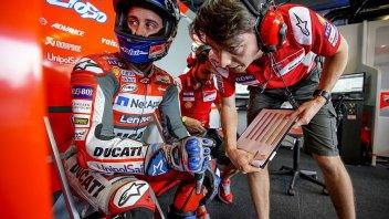 """MotoGP: Dovizioso: """"Per Marquez sono davanti? All'ultimo giro sarà con me"""""""