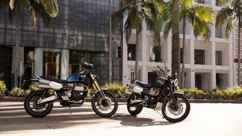 News Prodotto: Triumph Scrambler 1200 XC ed XE: vintage, in salsa offroad